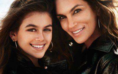 El estilo de Cindy Crawford y su hija Kaia Gerber