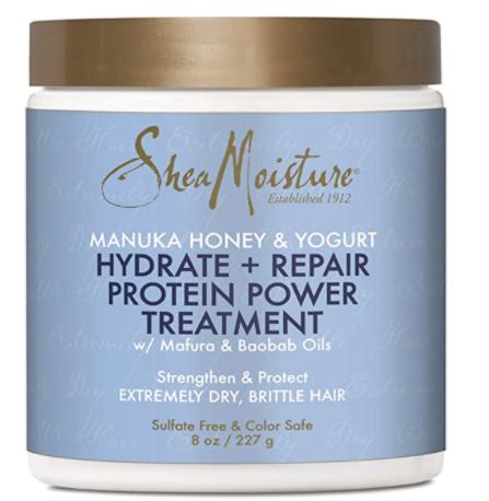 SheaMoisture Manuka Honey and Yogurt Hydrate & Repair Protein-Strong Treatment