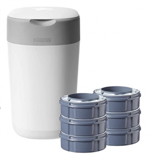 Tommee Tippee Mejores cosas de bebé para casa. Robot de cocina para bebés, contenedor de pañales, vajilla de porcelana
