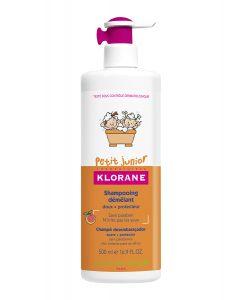 Klorane junior champú. He buscado el mejor champú natural para bebés y niños. Un champú orgánico, sin sulfatos, sin parabenos, pH neutro, hidratante y suave.