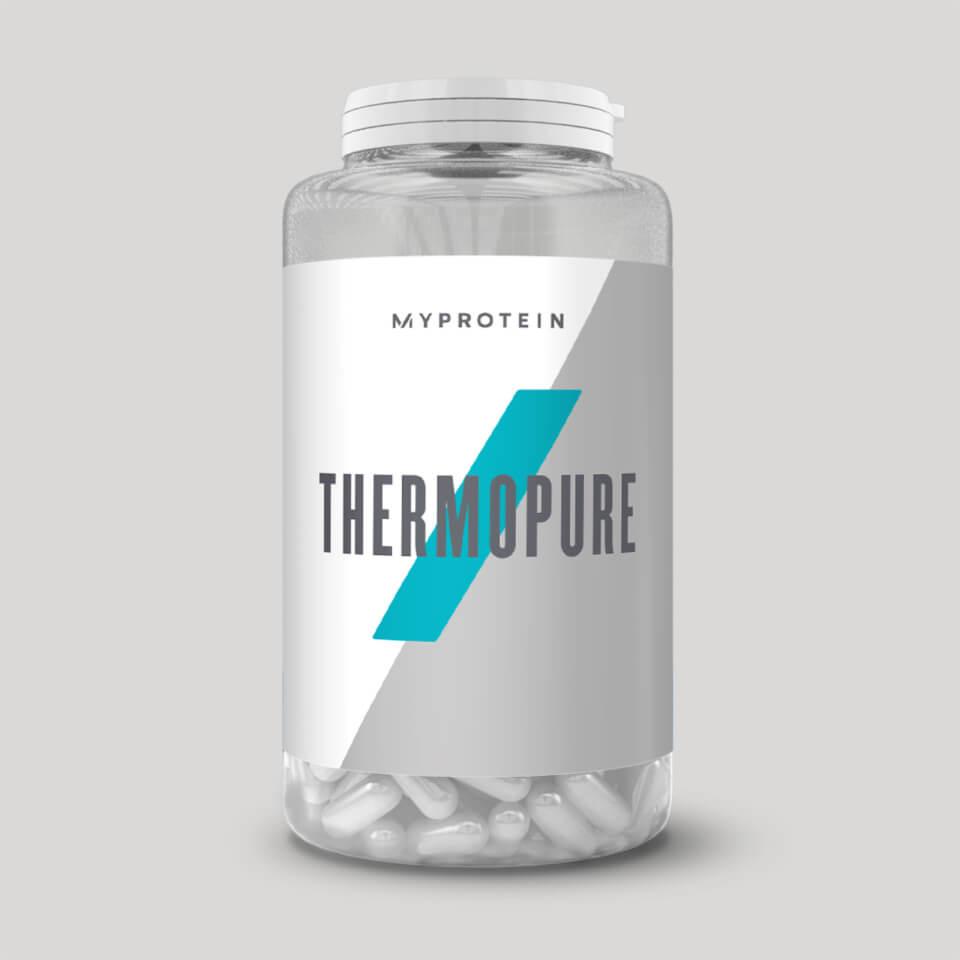 MYPROTEIN Thermopure Cafeína Ayuda con la dieta: Myprotein. Muchos productos para adelgazar y tonificar. Deliciosos batidos de proteínas, barritas, suplementos, tortitas