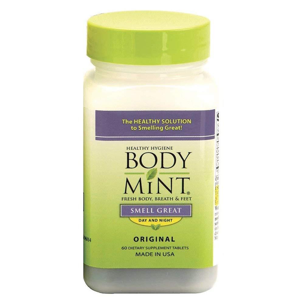 Clorofila para olor corporal. body mint. Clorofila en cápsulas