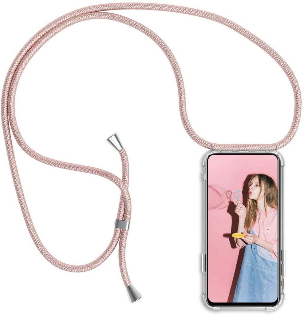 Funda de móvil con cuerda