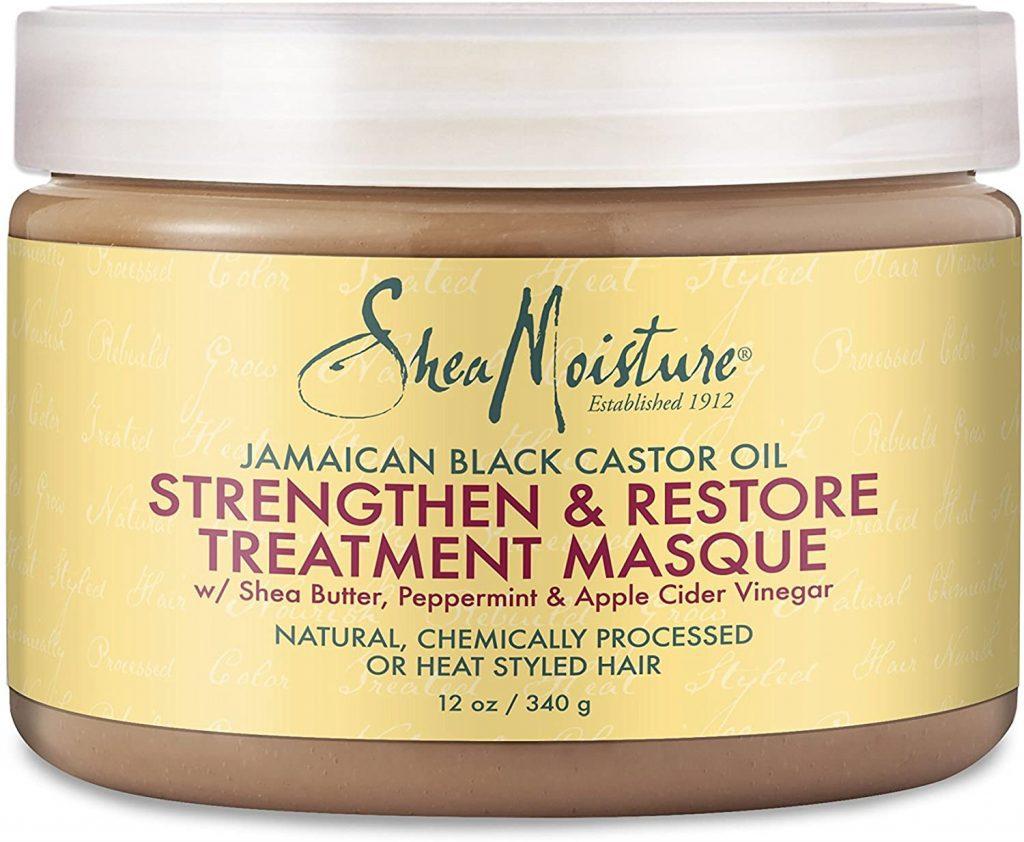 Mascarilla Shea Moisture Jamaican Black Castor Oil. Mi opinión, experiencia, qué es, cómo se usa y dudas del tratamiento: Olaplex 1 y 2, Olaplex n 3, Champú n 4, Acondicionador n 5, Crema n 6, aceite n 7.
