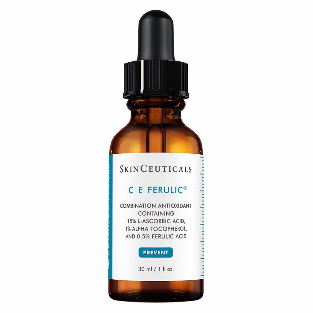 Vitamin C E Ferulic Serum SkinCeuticals El mejor sérum vitamina C antiedad. Producto de belleza para cuidado facial: Antioxidante, manchas. Timeless Skinceuticals Martiderm Nezeni