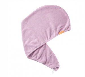 Peinado al aire para dummies con un turbante para el pelo de microfibra Turbante liso Aquis