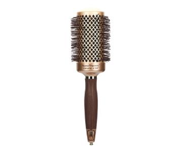 Cepillo redondo de cerámica Olivia Garden. Elige el mejor tipo de cepillo de pelo para tener una melena sana. Cabello fino, grueso, rizado, largo, delicado.