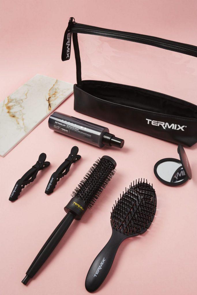Elige el mejor tipo de cepillo de pelo para tener una melena sana. Cabello fino, grueso, rizado, largo, delicado. Termix