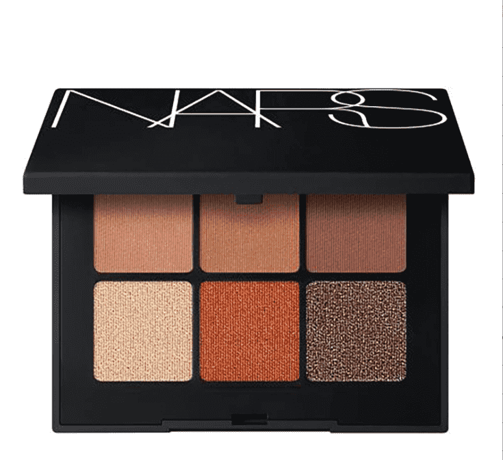 NARS COSMETICS VOYAGEUR EYESHADOW PALETTE COPPER