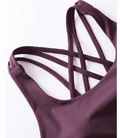 El mejor sujetador deportivo y leggings para hacer deporte. Ropa fitness de calidad, diseño y buen precio. CRZ Yoga conjunto deportivo mujer.