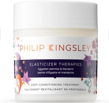 Philip Kingsley elasticicer therapies. Mascarilla para el pelo seco. Mejor mascarilla hidratante pelo natural, mascarillas con proteínas, queratina, aceite de coco, jojoba.